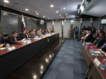 Comisión evaluó a magistrados a CSJ