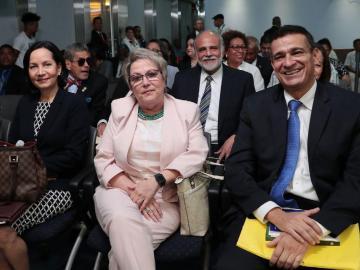 Los magistrados a la Corte, designados por Cortizo, fueron ratificados ayer