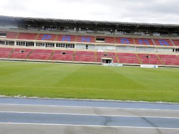 Directivos de FIFA inspeccionan los estadios en Panamá
