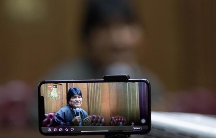 Diputados bolivianos aprueban la ley que protege a líderes como Evo Morales
