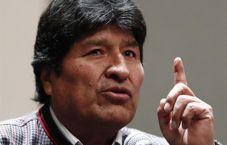 Expresidente Evo Morales viaja de México a Cuba a consulta médica