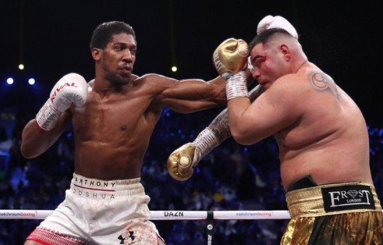 Joshua, campeón pesado