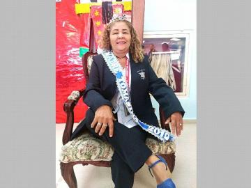Luchó ella sola, soltera, para hacer de sus hijos personas de bien Gladys Ohmer