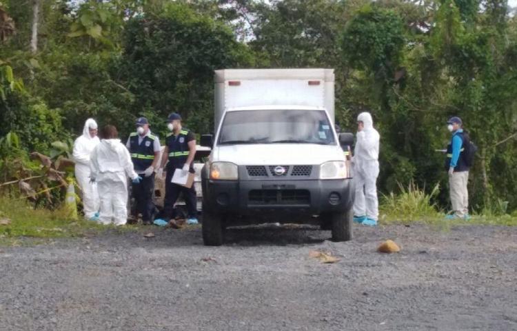Dos mueren calcinados dentro de un carro en Capira