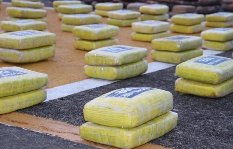 Decomisan463 paquetes de droga en Capira