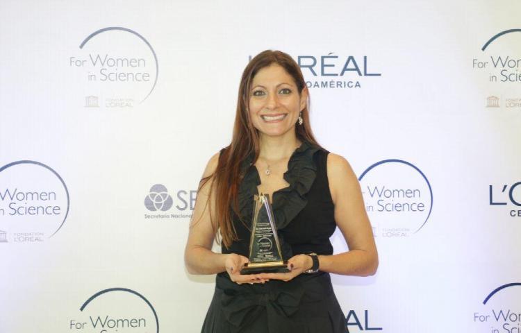 Recibe el Premio Nacional 'Por las Mujeres en la Ciencia 2019'