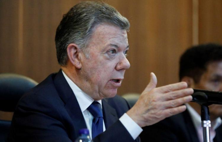 Santos desvincula sus campañas de Odebrecht