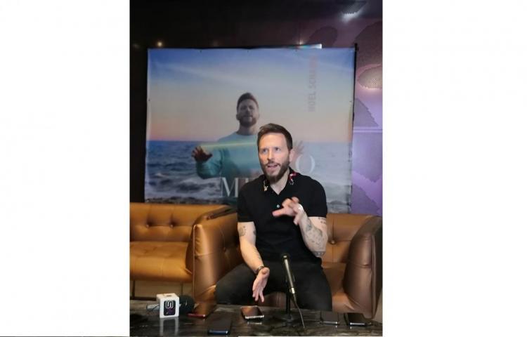 Noel Schajris promociona en Panamá su nuevo sencillo, 'Lo mejor de mí'