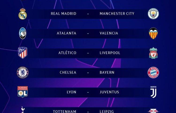 Atlético-Liverpool y Dortmund-PSG abrirán los octavos