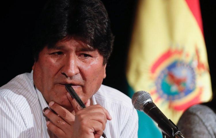 Argentina aclara que sigue en trámite el pedido de refugio de Evo