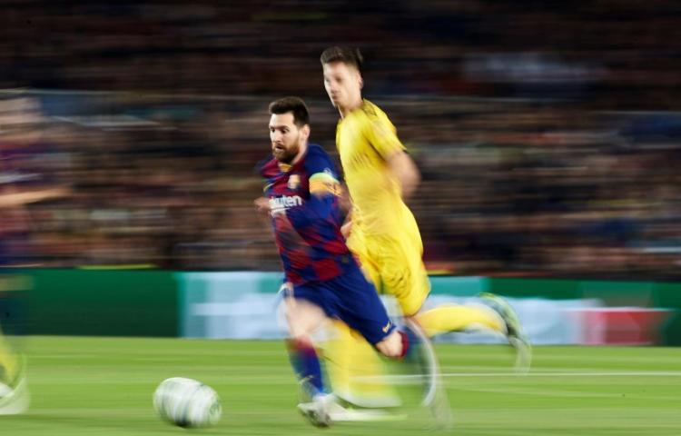 Leo Messi, rey del fútbol