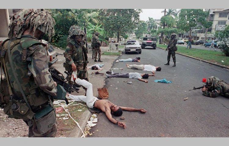Hoy, a 30 años de la invasión, Día de Duelo Nacional, pero laboral