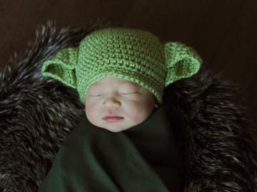 Un hospital de Florida arropa a todos sus recién nacidos como Star Wars