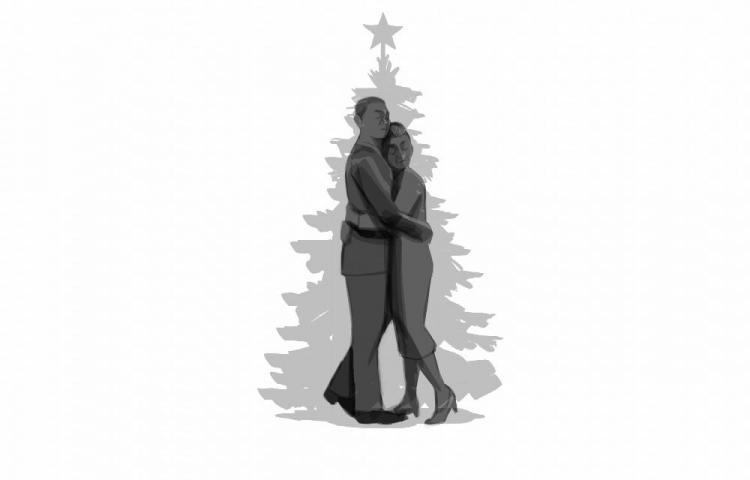 Sus navidades eran tristes, faltaba lo que más quería