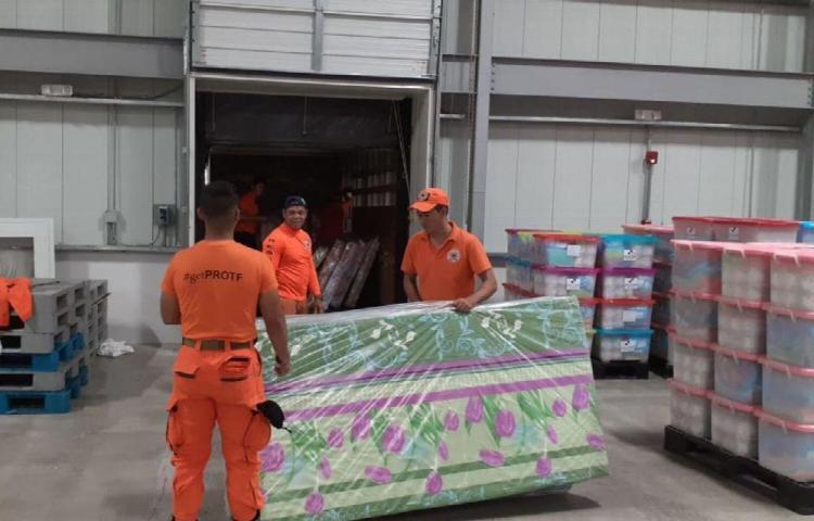 Mil 70 afectados por temporal de lluvia en Bocas del Toro