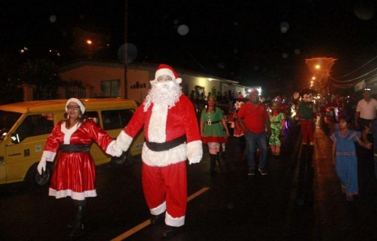 15 desfiles de Navidad realizados en Chiriquí