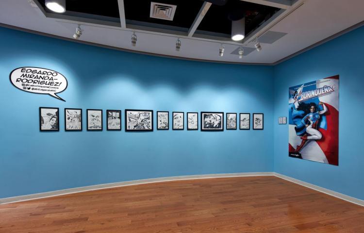 Una exhibición de cómics en Nueva York celebra los héroes y heroínas de color