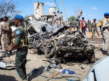 Masacre en Somalia, un carro bomba deja 92 muertos
