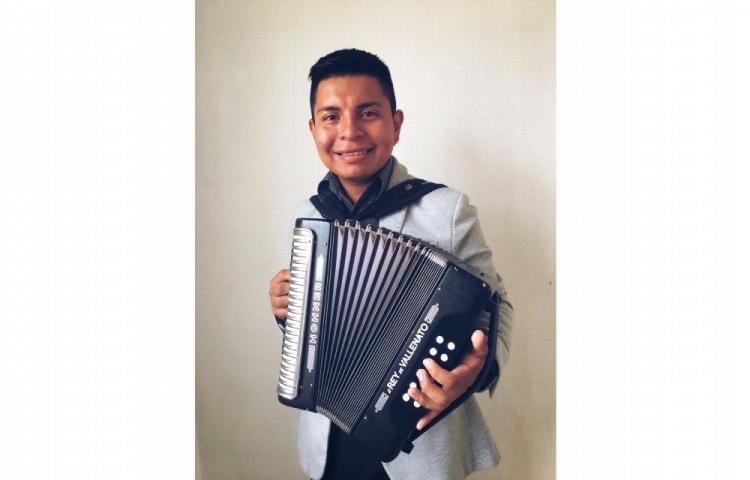 Regino Soto, la promesa musical de La Chorrera
