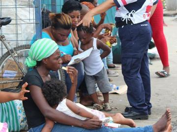 Más nicaragüenses llegan a Panamá huyendo de la crisis de su país