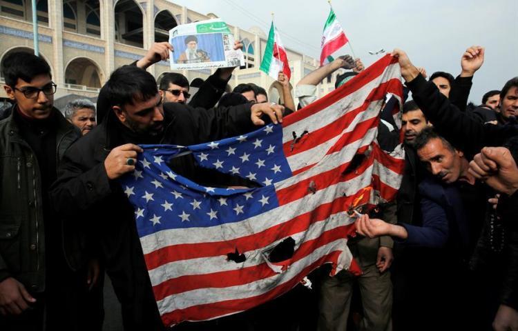 Multitud Popular confirma la muerte de 8 personas en ataque de EEUU en Bagdad