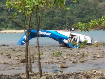 Cae avioneta en Veracruz