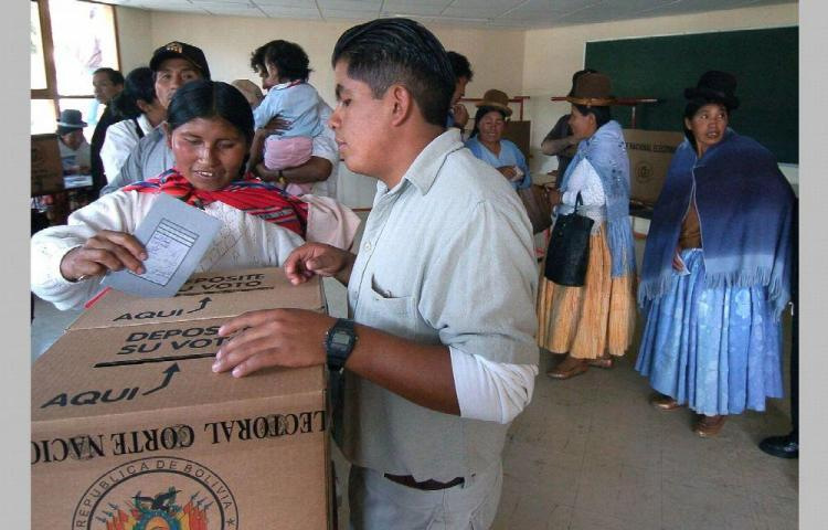 Los nuevos comicios en Bolivia se celebrarán en mayo