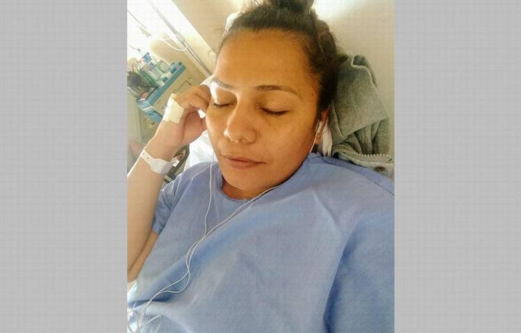 Rosita Pérez está hospitalizada