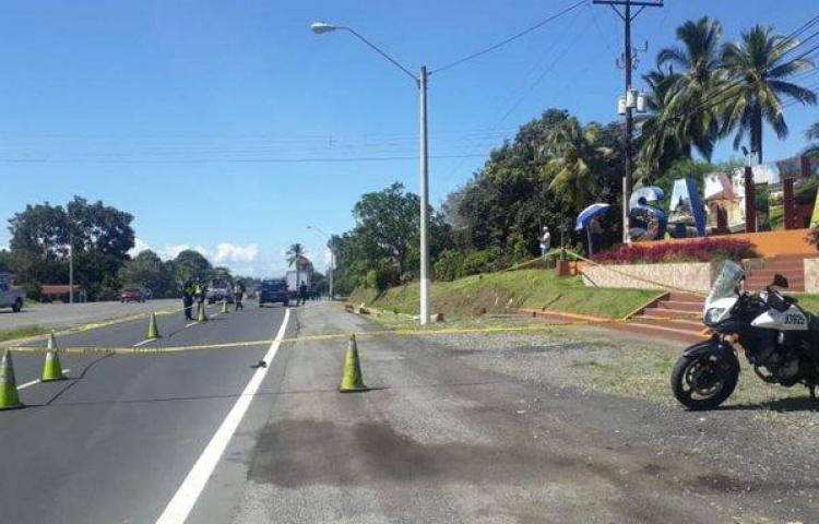 Primera víctima por atropello en la provincia de Chiriquí