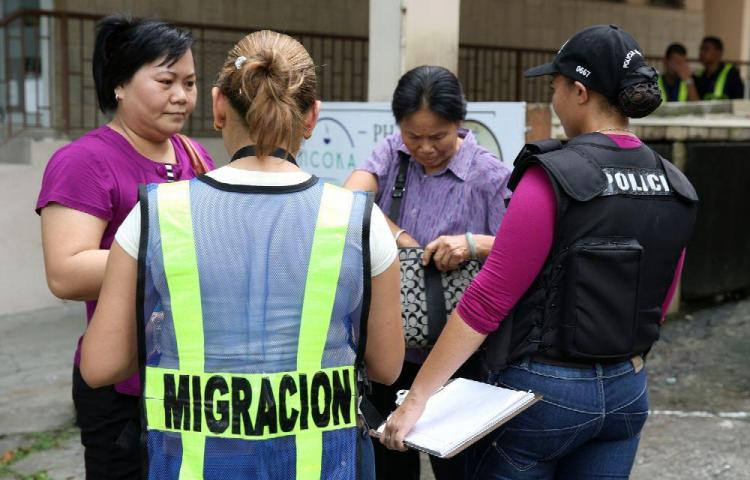 Más de 600 extranjeros fueron retenidos