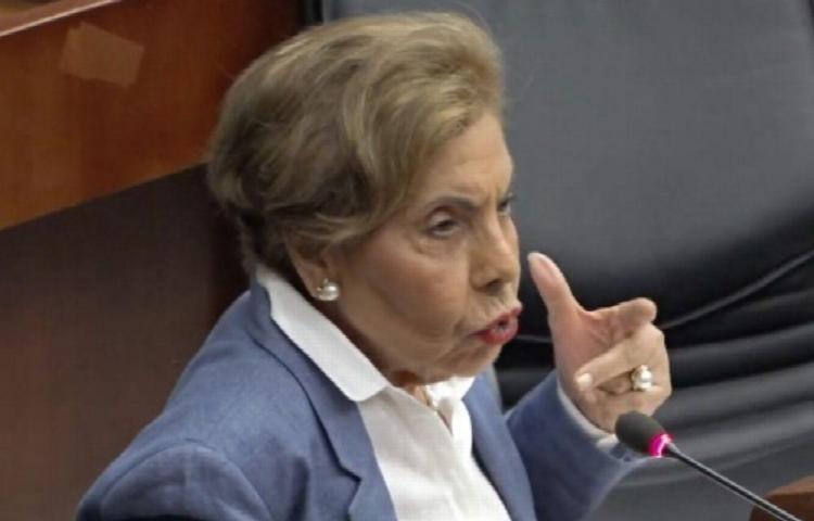 Diputada de CD fustiga a la bancada PRD en la Asamblea Nacional