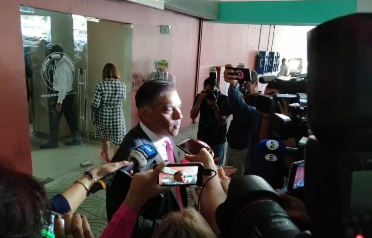 Adolfo 'Beby' Valderrama entra a audiencia de imputación por el caso Pandeportes