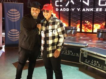"""La historia tras """"Muévelo"""", primera colaboración de Daddy Yankee y Nicky Jam"""
