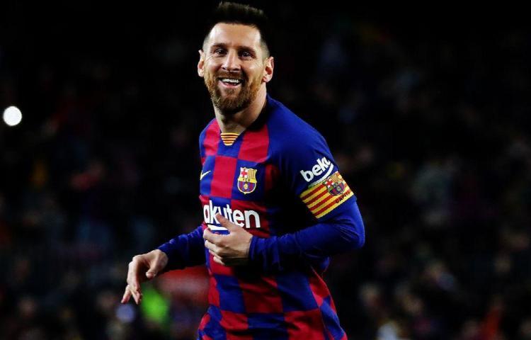 Barcelona de Messi contra el Atlético Madrid