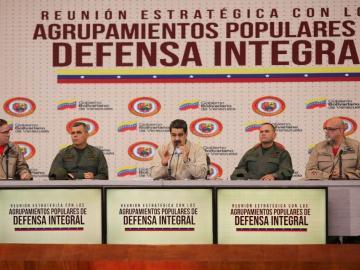 Maduro anuncia ejercicios militares para inicio de febrero