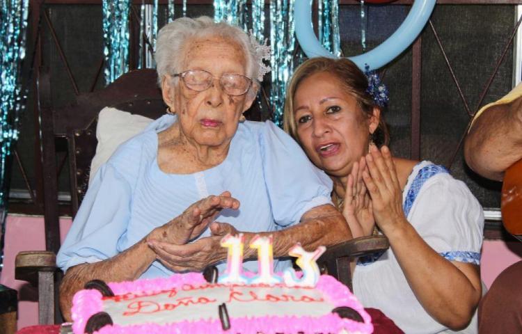 Falleció tía Clara, la panameña que cumplió 113 años