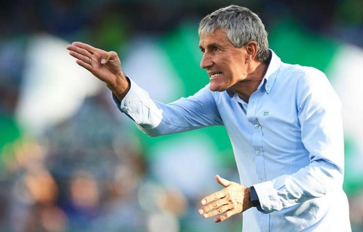 Setién, a plasmar su concepción del fútbol