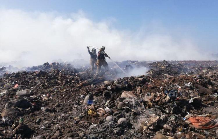 Vertederos de Chitré y de Los Santos están ardiendo