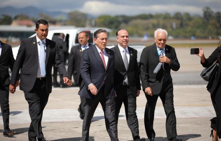 Cortizo participa en toma de posesión de presidente de Guatemala