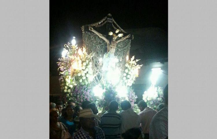 Llegan a Antón para venerar al Cristo de Esquipulas