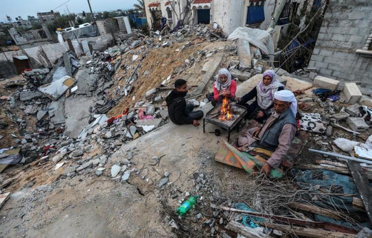 Cuatro cohetes lanzados desde Gaza hacia Israel rompen la calma en la zona