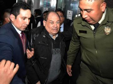 Ex ministro de Evo Morales, del hospital, lo mandan a prisión