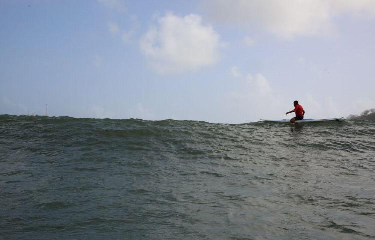 Hoy y mañana esperan oleajes en el Caribe de hasta cuatro metros
