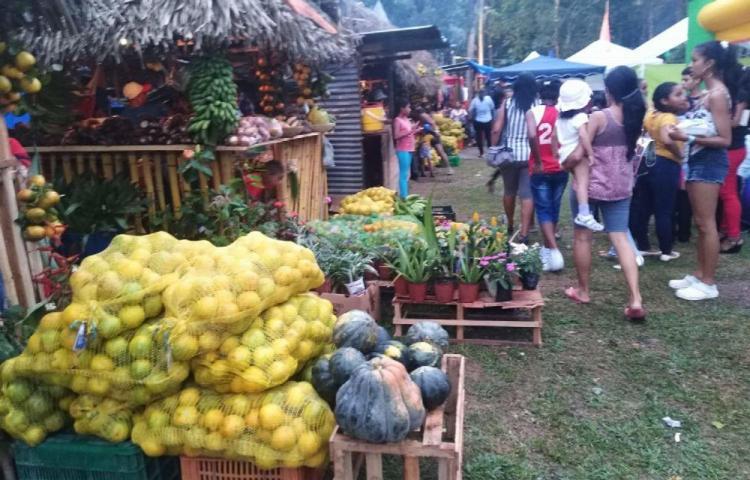 Disfrutaron de lo lindo en la Feria de La Naranja