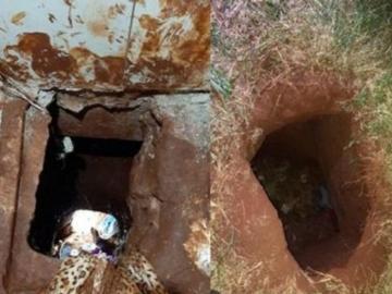Se fugaron 70 presos brasileños por un túnel