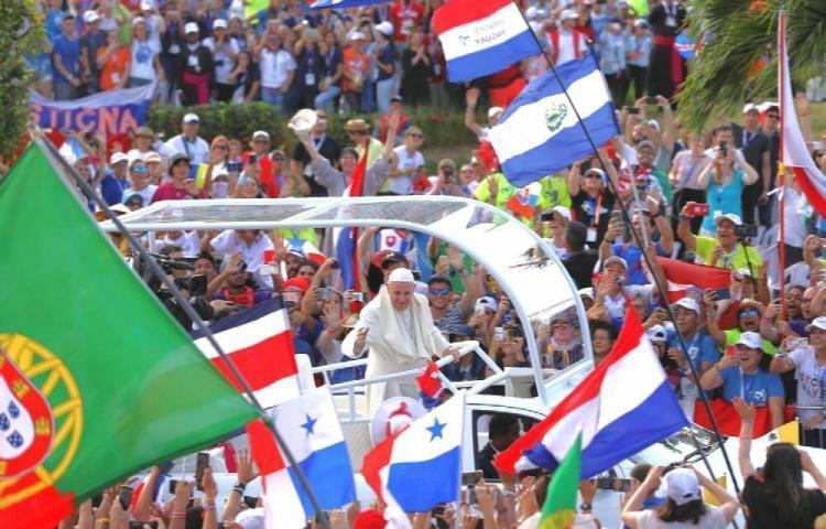 """Panamá conmemora un año de la JMJ con """"Celebremos 2020"""""""