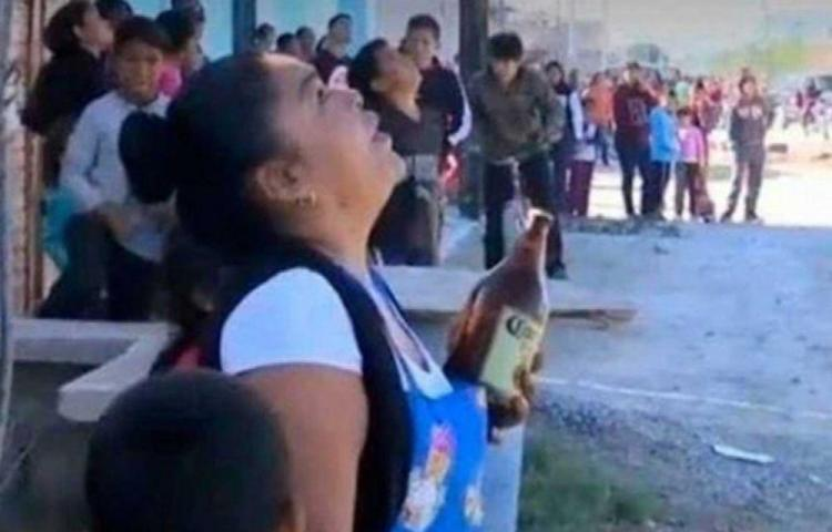 Trató de evitar un suicidio ofreciendo una cerveza