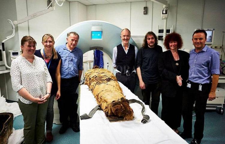 Hicieron hablar a una momia de 3 mil años
