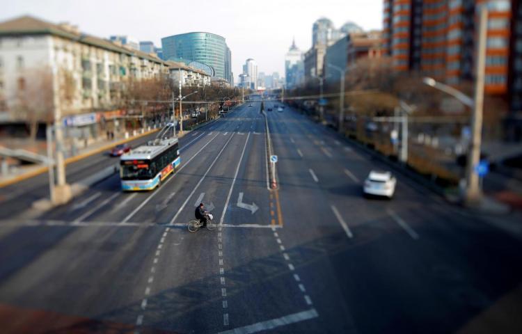 China vive su Año Nuevo más triste a causa del virus