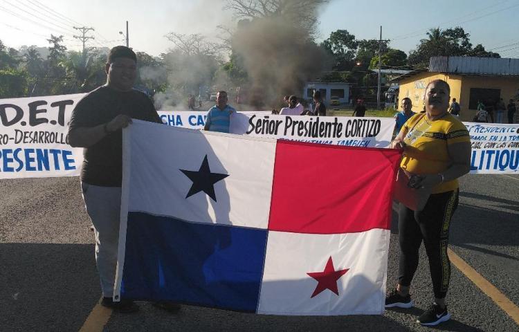 """""""Estamos en firme con la huelga"""", Movimiento Causa Justa"""